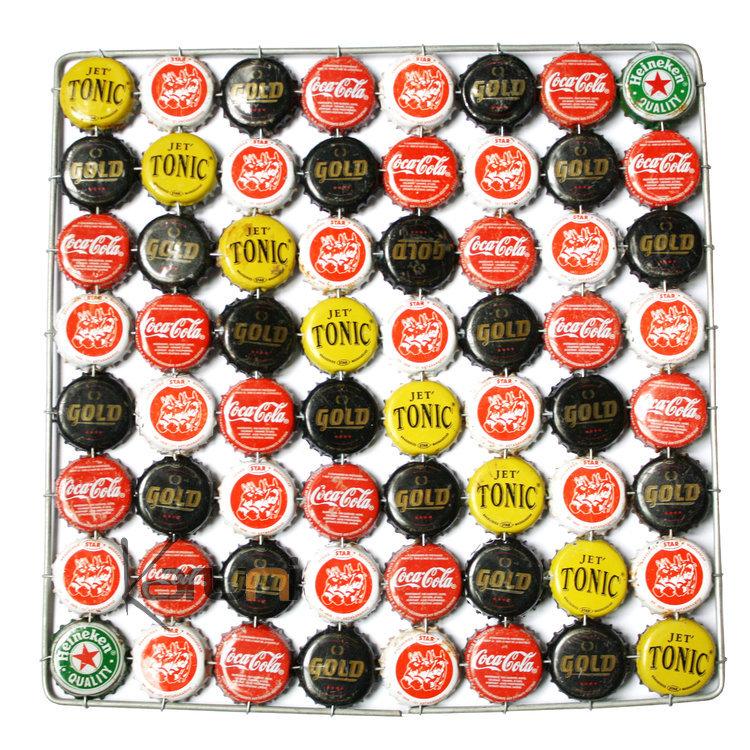 Dessous de plat capsule original rigolo rouge jaune noir design - Dessous de plat original ...